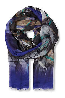 HUGO BOSS Printed scarf