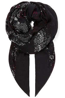 HUGO BOSS Dot print scarf