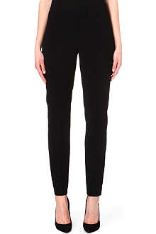 HUGO BOSS Taleka crepe straight leg trousers