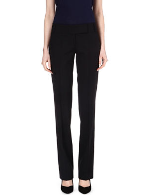 HUGO BOSS Taru straight-leg trousers