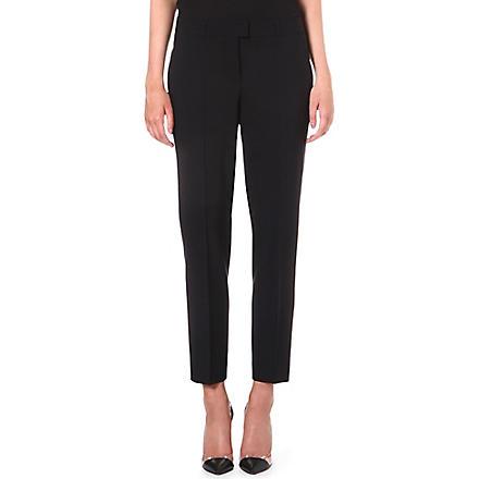 HUGO BOSS Tobaluka stretch-wool trousers (Black