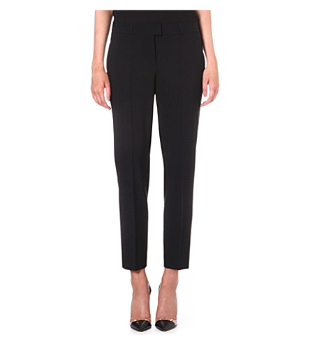 HUGO BOSS Tobaluka stretch-wool trousers (Black