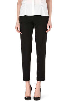 HUGO BOSS Stretch-wool trousers