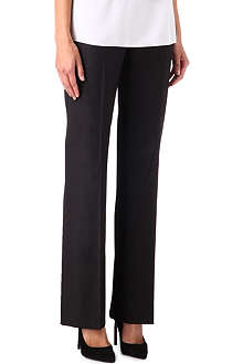 HUGO BOSS Melange wide leg trousers