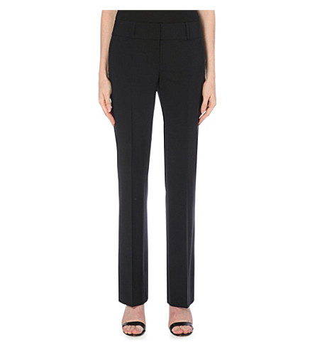 HUGO BOSS Tuliana bootcut trousers (Black