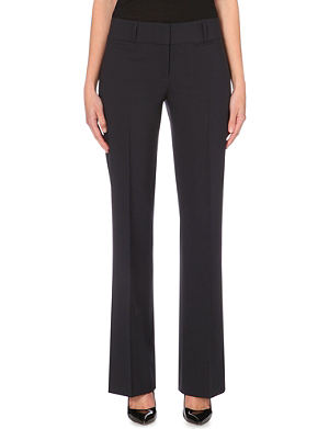 HUGO BOSS Tuliana bootcut trousers