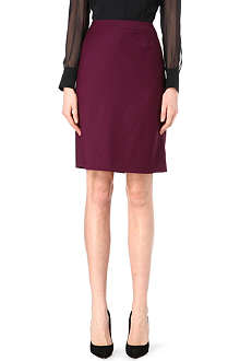HUGO BOSS Wool-blend pencil skirt