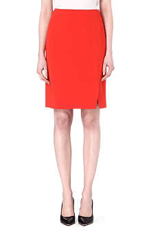 HUGO BOSS Vataxa crepe pencil skirt