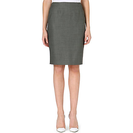 HUGO BOSS Venola pencil skirt (Grey