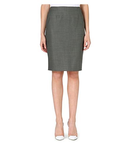 HUGO BOSS Venola pencil skirt (Grey