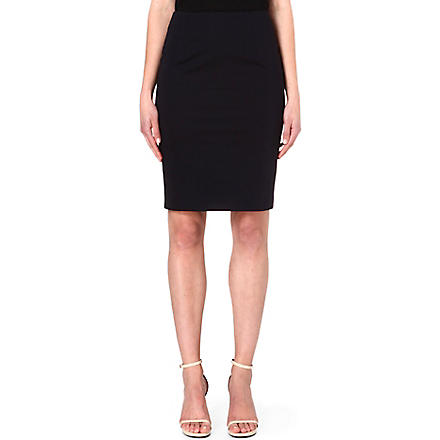 HUGO BOSS Vilina pencil skirt (Navy