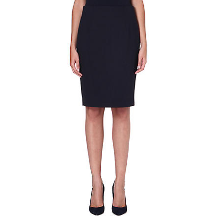 HUGO BOSS Vilina pencil skirt (Blue