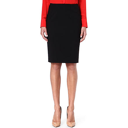 HUGO BOSS Vilina suit skirt (Black