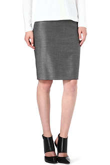 HUGO BOSS Vilina pindot pencil skirt