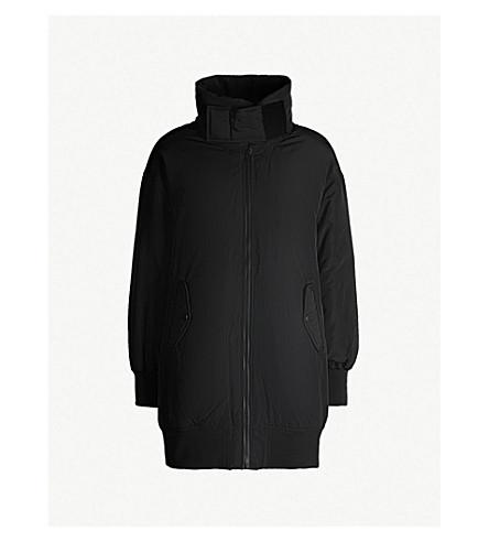 5CM High-neck shell-down jacket (Black