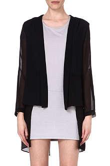 5CM I.T layered chiffon jacket