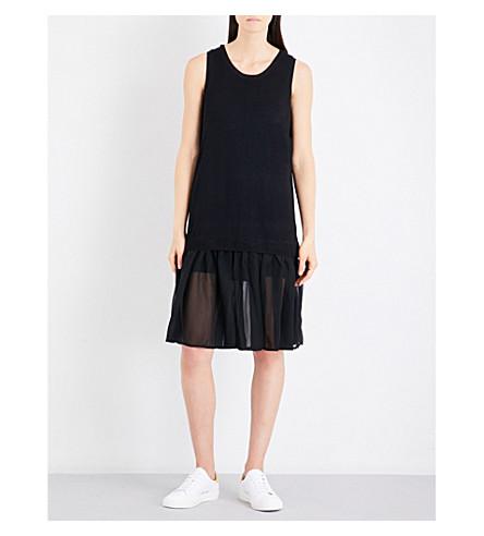 5CM Dropped-waist knitted dress (Bkx