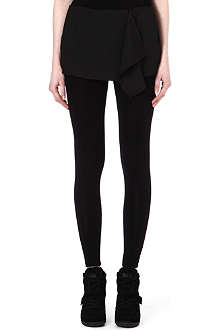 5CM I.T jersey leggings with wrap skirt