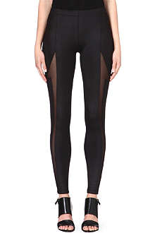 5CM Mesh panelled leggings