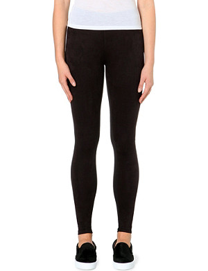 5CM Contrast stretch-jersey leggings