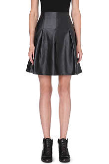 5CM I.T. faux-leather skirt