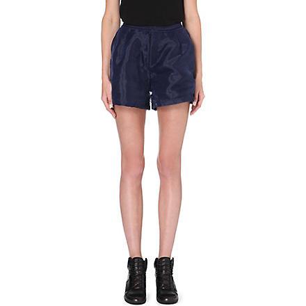 5CM I.T organza shorts (Navy