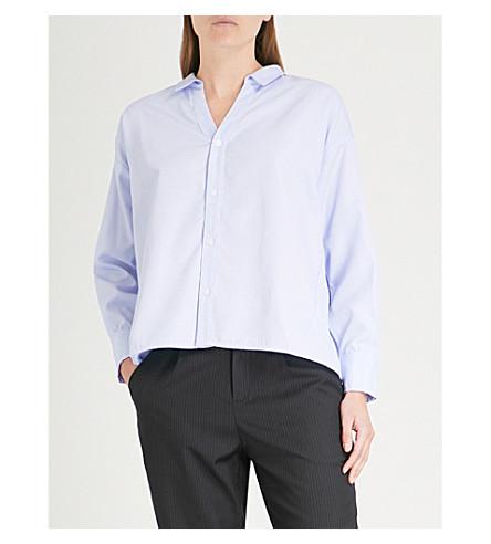 5CM Striped textured shirt (Grey