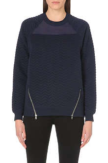 5CM I.T. textured sweatshirt