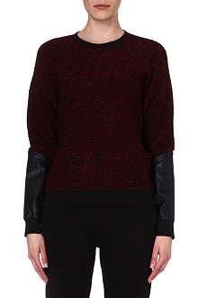 5CM I.T contrast-sleeve sweatshirt
