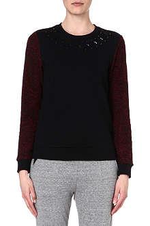5CM I.T jewel-neckline sweatshirt
