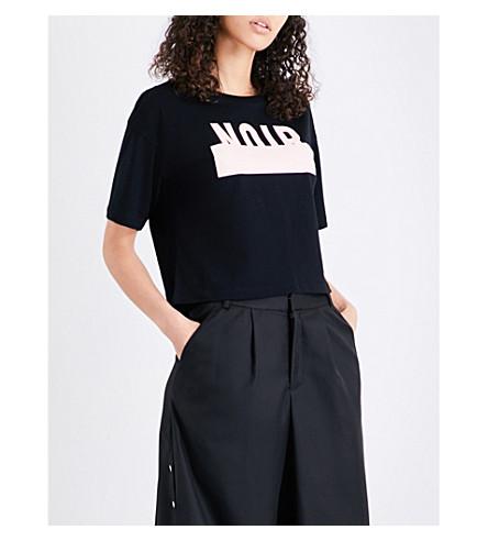 5CM Noir-print cotton-jersey T-shirt (Black