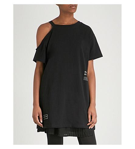 5CM文本-打印棉衫-球衣顶部 (黑色