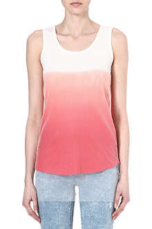 5CM I.T dip-dye cotton tank top