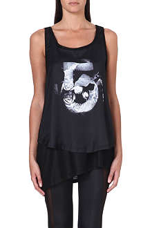 5CM I.T Two-in-one printed vest top