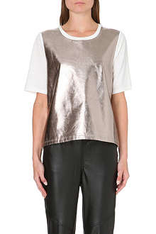 5CM Metallic panel t-shirt