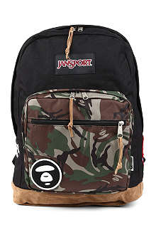 AAPE I.T Jansport camouflage-print backpack