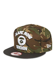 AAPE Camouflage snapback cap