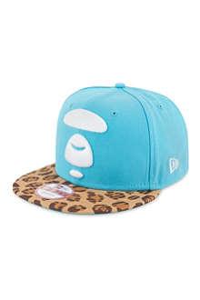 AAPE Leopard peak baseball cap