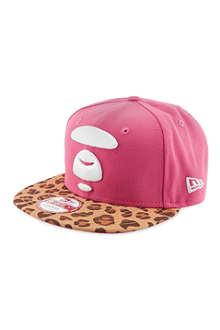 AAPE Leopard print baseball cap