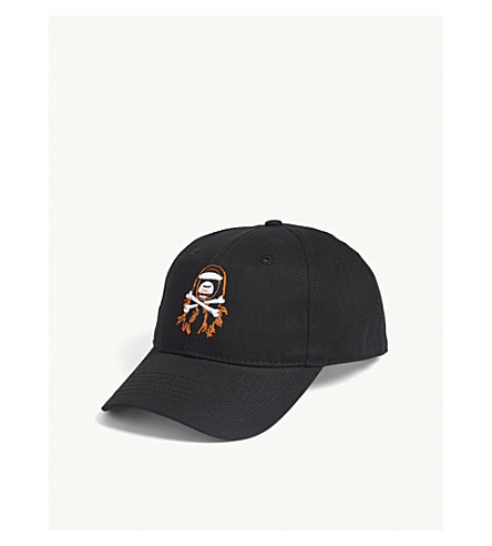 AAPE AAPE x Steve Aoki cotton baseball cap (Black