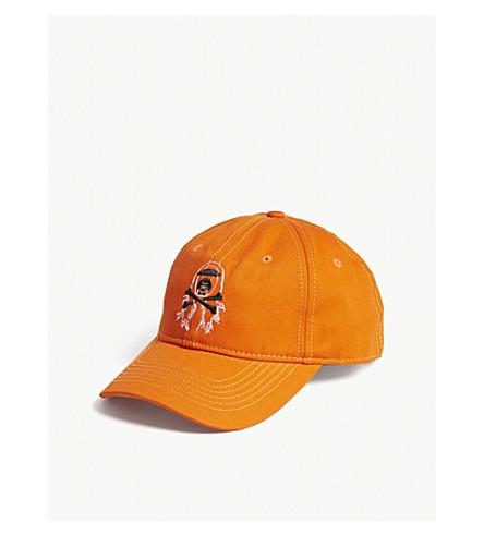AAPE AAPE x Steve Aoki cotton baseball cap (Orange