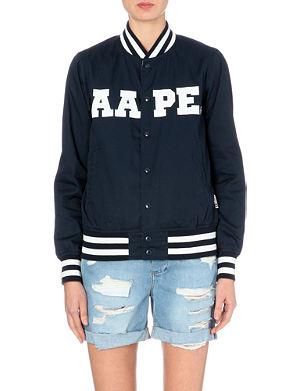 AAPE Reversible varsity jacket