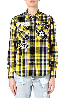 AAPE I.T flannel shirt