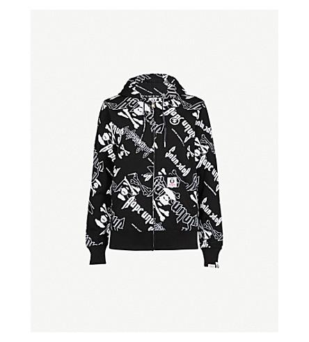 AAPE Neo Rock cotton-blend hoody (Black