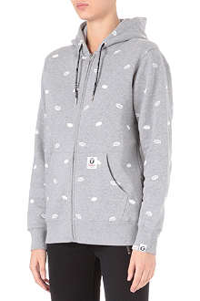 AAPE I.T monogram zip-up hoody