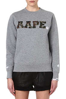 AAPE I.T cotton sweatshirt