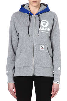 AAPE I.T zip-through hoody
