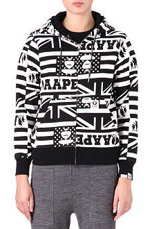 AAPE I.T zip-up hoody