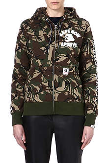 AAPE I.T camouflage zip-through hoody