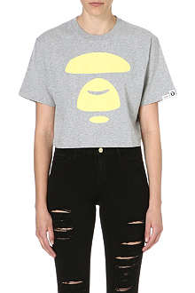 AAPE I.T Moonface cropped t-shirt